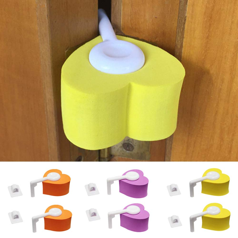 New 6 x Door Hinge Guard Safety Finger Pinch Proofing for Kids Baby
