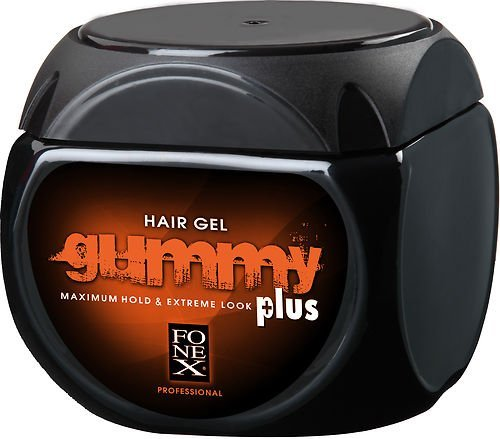FONEX GUMMY HAIR GEL PLUS EXTREME HOLD EXTRA STRONG 700ML