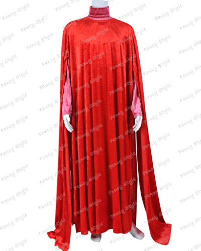 Star Wars Cosplay Red Royal Guard Cloak Cape Costume Custom Made]()