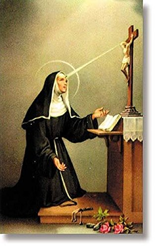 St. Rita (Patron saint of the Impossible) Wallet Sized Holy card (Prayer To St Rita Of The Impossible)