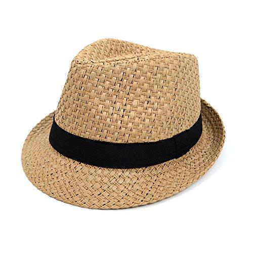 WESTEND Spring/Summer Banded Fedora Hat