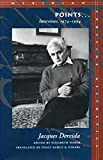 Points..., Jacques Derrida, 0804724881