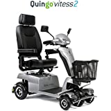 Quingo Vitess 2 Mobility Scooter with 5 Wheel Anti-Tip Stability System; Most Luxurious, Advanced and Powerful Model Perfect for Any Terrain for Maximum Versatility