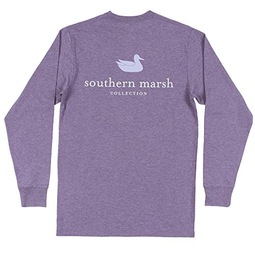Southern Marsh Men's L/S Authentic Washed Iris S (Southern Marsh Lab)