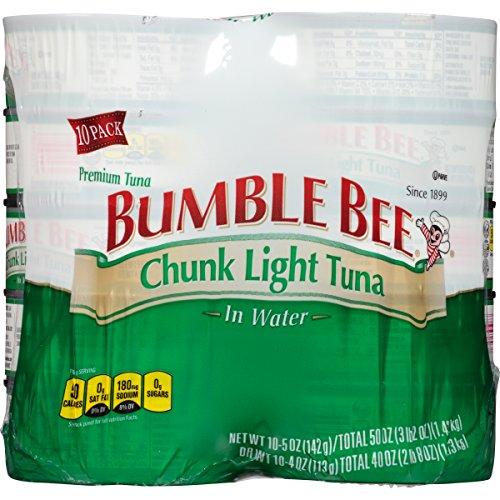 Bumble Bee Chunk Light Tuna in Water - 5oz (pack of 10)