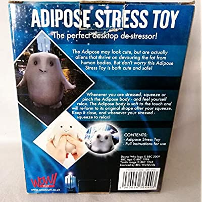 Underground Toys Doctor Who Adipose Stress Toy: Toys & Games