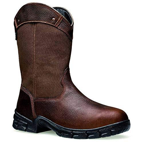 Timberland PRO Men's Excave Wellington Steel Toe Work Boot,Brown Leather,13 M US