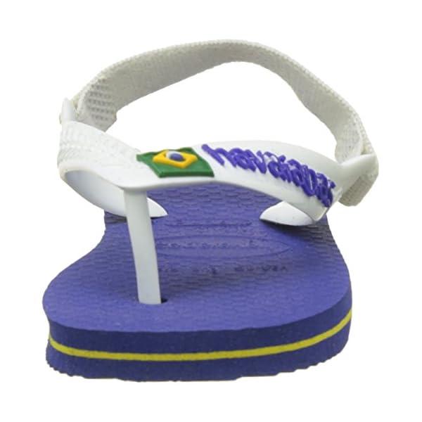 Havaianas Baby Brasil Logo II, Infradito Unisex-Bambini 2 spesavip