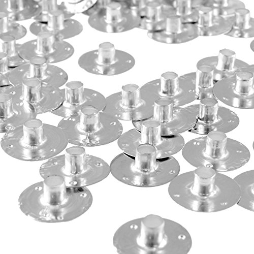 150pcs Metal Candle Wick Sustainer Tabs - Kare & Kind® retail packaging