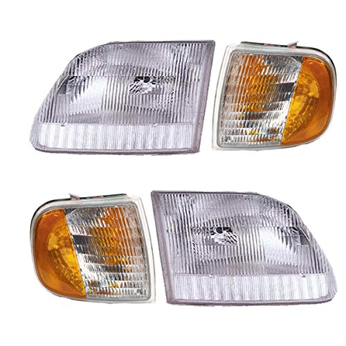 01 ford f150 headlights - 2