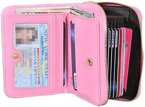 32530c77ee3 Yeeasy Credit Card Holder Wallet Womens Card Case Genuine Leather ...