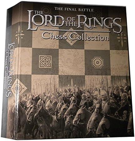 Eaglemoss Archivador para 16 revistas de la colección de Ajedrez Señor de los Anillos: Amazon.es: Juguetes y juegos