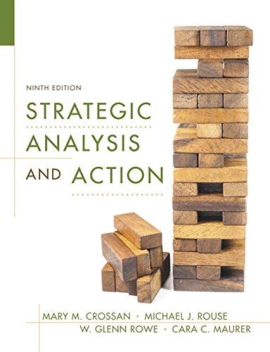 Strategic Analysis and Action (9th Edition)