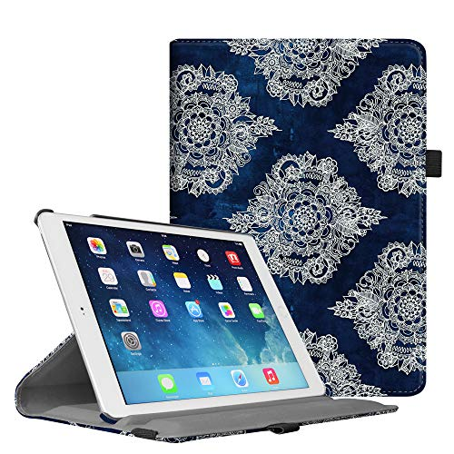 Fintie iPad Mini 1/2/3 Case - Multiple Angles Stand Case with Smart Cover Auto Sleep/Wake Feature for Apple iPad Mini 1 / iPad Mini 2 / iPad Mini 3, Indigo Dreams