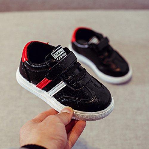 saihui Baby Kinder Fashion Sneaker Kinder Jungen Mädchen CasualLeder Lauf Sportschuhe Warme Freizeitschuhe Baby Kleinkind Schuhe (21)