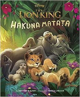 Buy Lion King 2019 Picture Book The Hakuna Matata Book