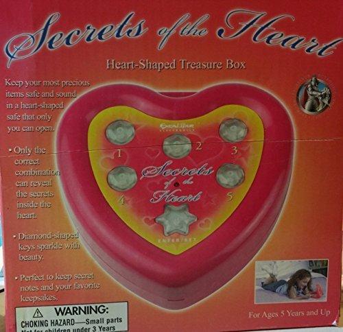 Heart Shaped Secret Treasure Box