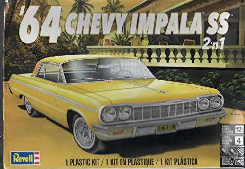 - Revell 4487 64 Chevy Impala SS Model Car Kit