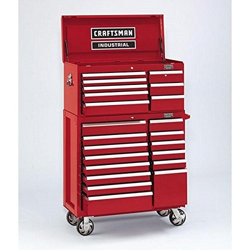Craftsman 8 Drawer (Craftsman Industrial 5000 Series Tool Storage Units 8 Drawer Top Chest, 40