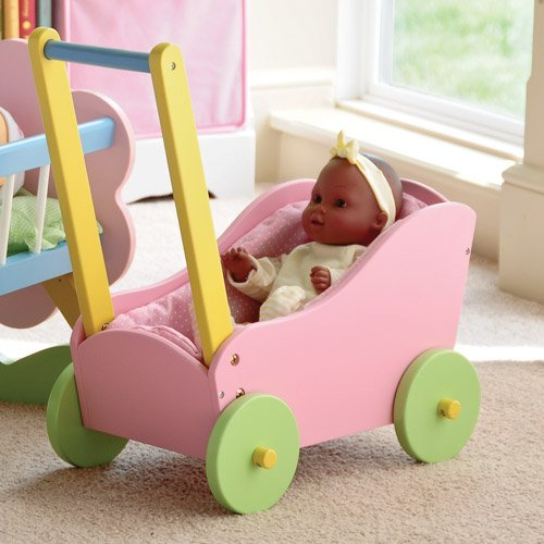 My Doll Carriage Made of Hardwood 12″-15″ Dolls, Baby & Kids Zone
