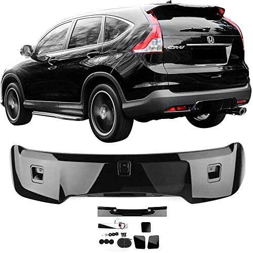 Pre-Painted Roof Spoiler Fits 2012-2016 Honda CR-V | OE Style Painted #NH731P Crystal Black Pearl ABS Rear Wind Visor Spoiler Wing Other Color Available By IKON MOTORSPORTS | 2013 2014 2015