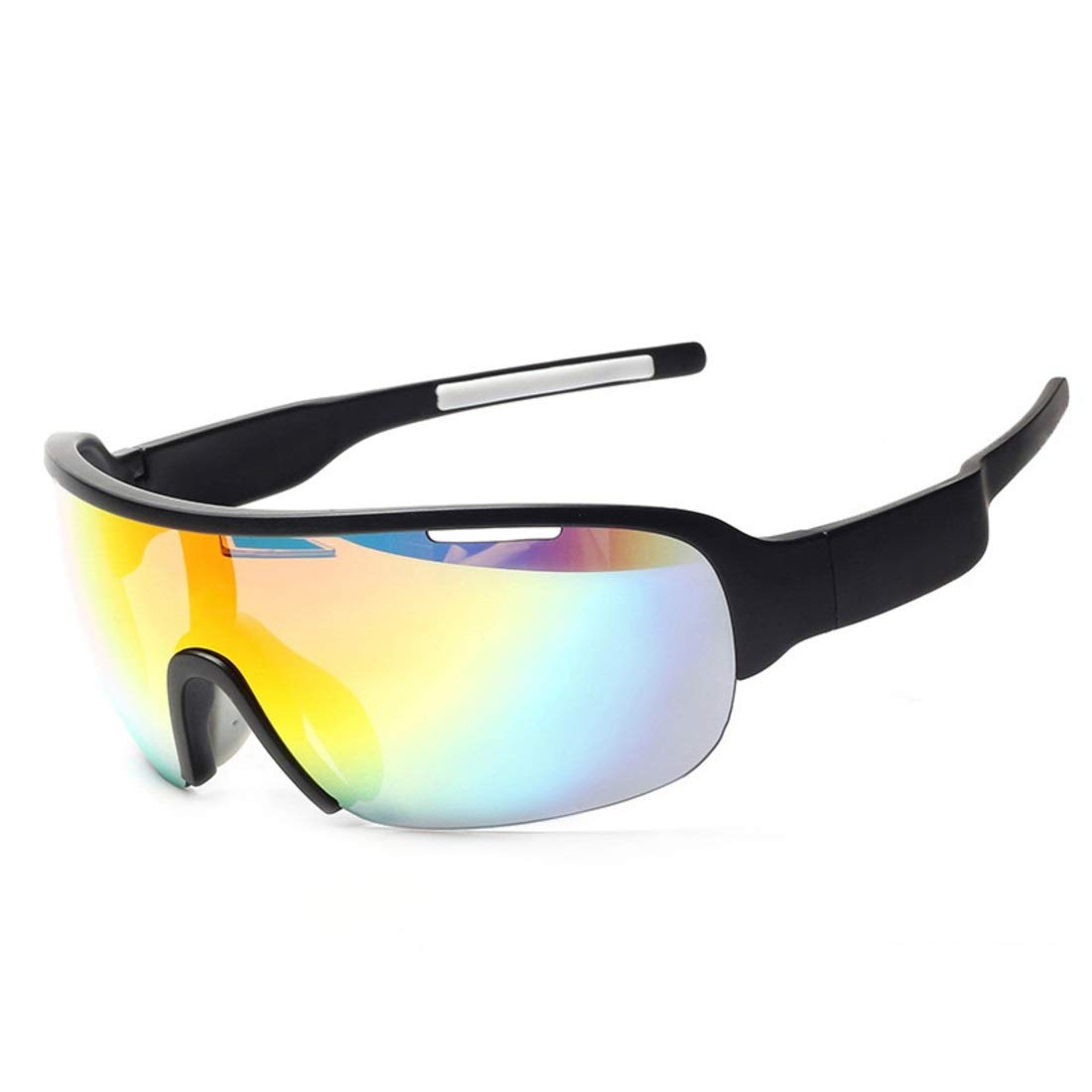 BAOYIT Half Frame Goggles Mountain Bike Windproof Sand Riding Outdoor Sports Glasses for Women Men (Color : A) by BAOYIT
