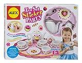 ALEX Toys - Children's 13 Piece Tea Set Party with Over 100 Decorate