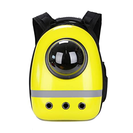 PUAO - Mochila portátil para Transportar Mascotas, diseño de cápsulas espaciales, Burbujas, Resistente