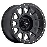 Method Race Wheels NV Matte Black Wheel with Zinc Plated Accent Bolts (17x8.5''/5x5.5'') 0 mm offset
