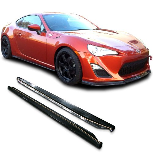 Scion FRS CS Bottomline Style Urethane Side Skirt Extensions Splitter Lip for 13+ Models