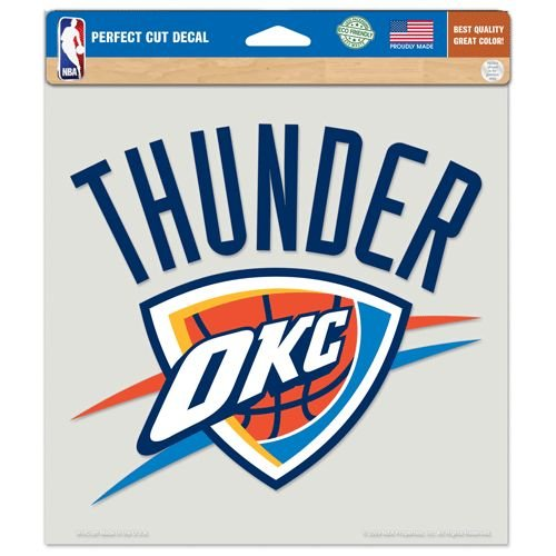 NBA Oklahoma City Thunder Die-Cut Color Decal, 8