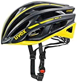 2015 Uvex Unisex Race 5 Helmet Black and Yellow Large 58-61cm
