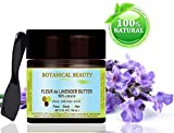 LAVENDER BUTTER. 100 % Natural / 100% PURE BOTANICALS, Virgin / Unrefined blend of Lavender Essential Oil with Soy Butter. Premium Quality. 4 Fl.oz.- 120 ml. For Skin, Hair and Nail Care. Review