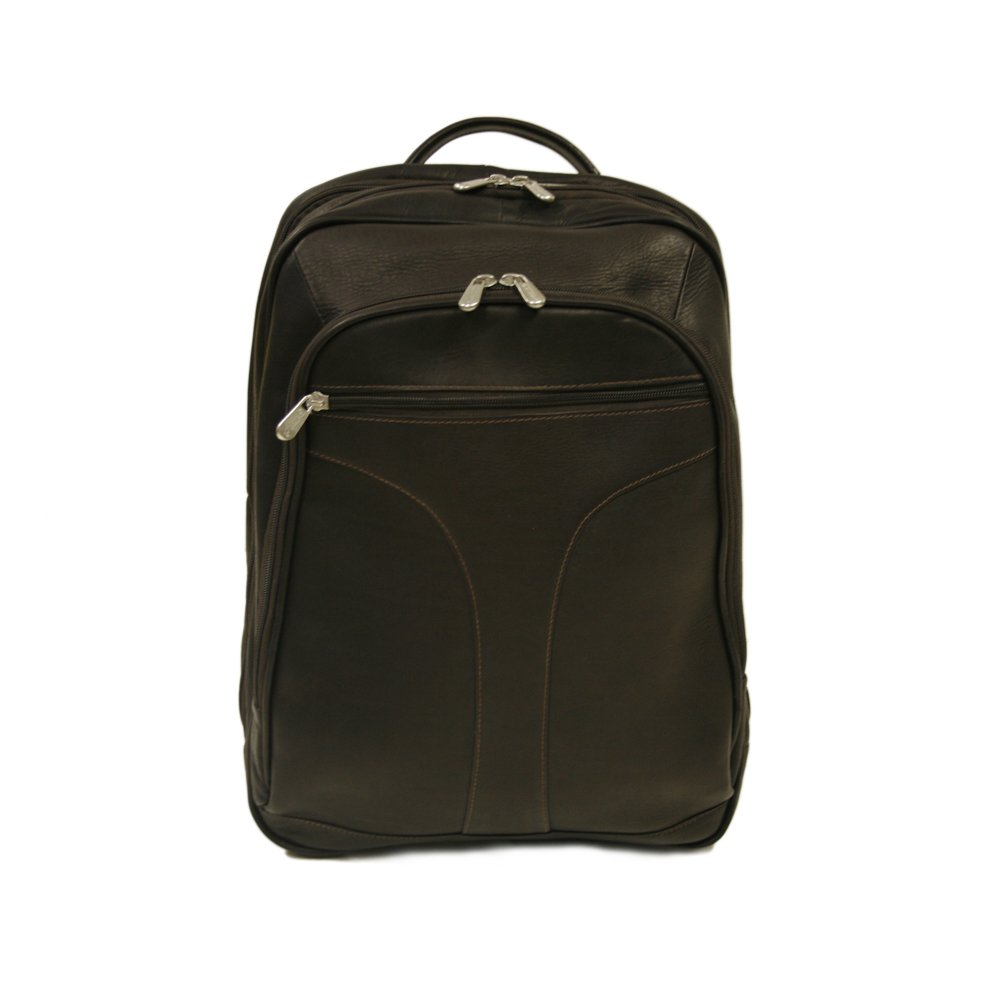 Piel Leather 2868-CHC Checkpoint Friendly Urban Backpack - Chocolate B0041X3F4U