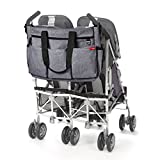 Skip Hop Diaper Bag Tote for Double Strollers with