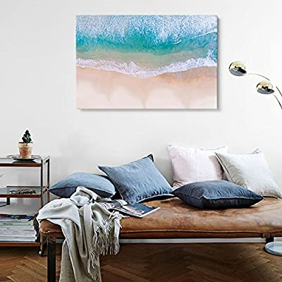 Wonderful Visual, White Waves and Crystal Clear Water on Tropical Beach, Made With Top Quality