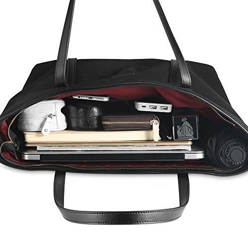 Donna Tote A Borse Bag Nera 1 Ufficio Spalla Chiceco Shopper qZw00F