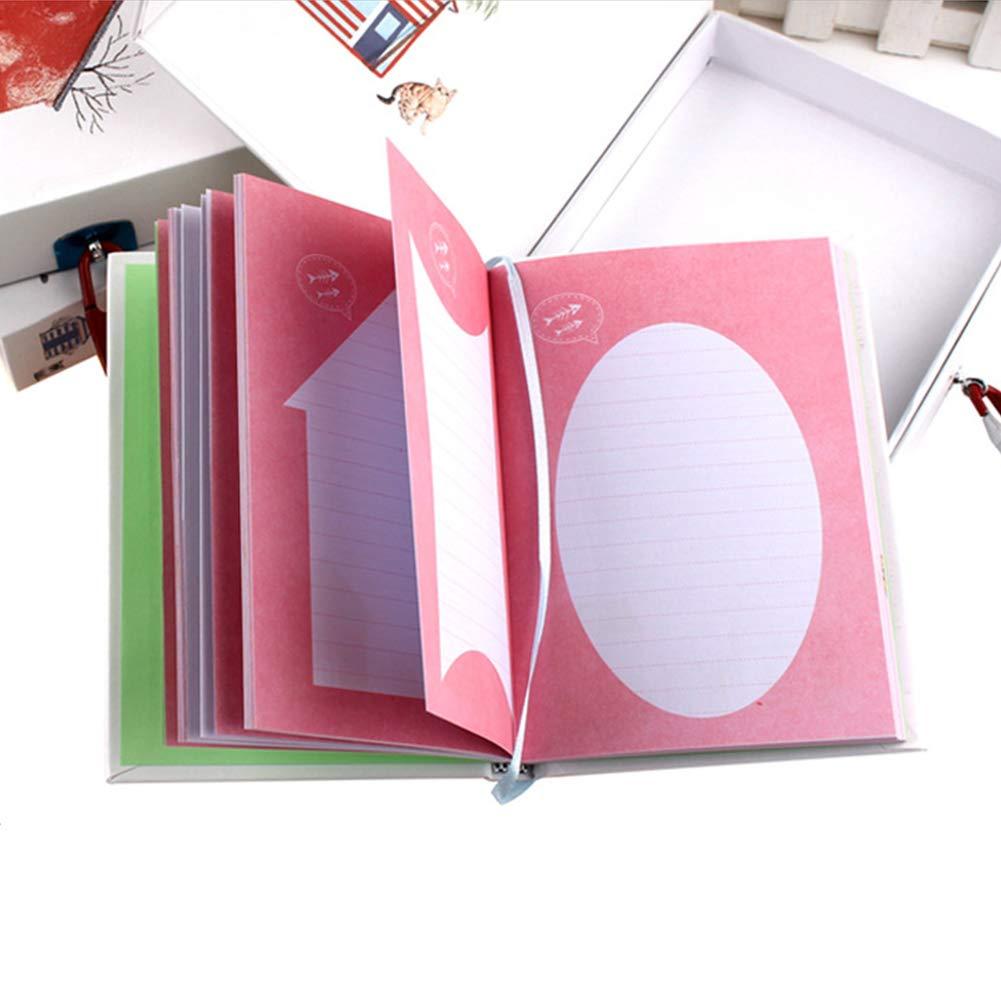 Tagebuch Abschließbar Für Mädchen Jungen Kinder Schulbedarf