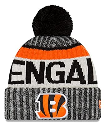 Cincinnati Bengals New Era 2017 NFL Official Sideline Sport Knit Hat