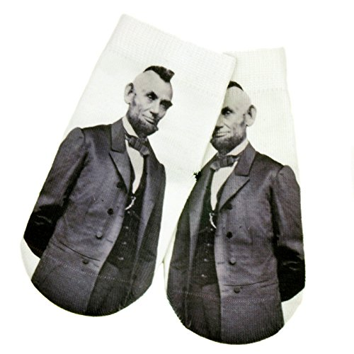 Cutest Baby Boy Socks - Punk Rock Abe - Gripper Socks, Anti-Slip Socks, Cute, Funky, Crazy, ()