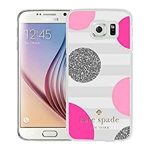 2015 CustomizedUnique Designed Kate Spade Cover Case For Samsung Galaxy S6 White Phone Case 56
