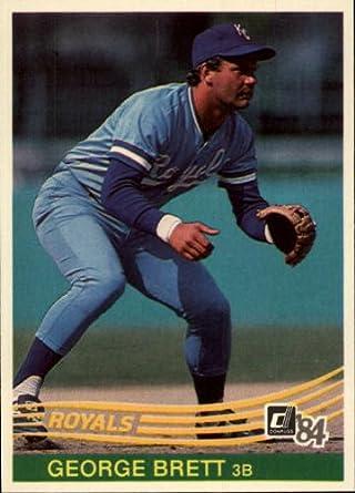 Honkbal Verzamelkaarten, ruilkaarten 1984 Donruss #53 George Brett Kansas City Royals Baseball Card