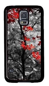 Diy Fashion Case for Samsung Galaxy S5,Black Plastic Case Shell for Samsung Galaxy S5 i9600 with Selective