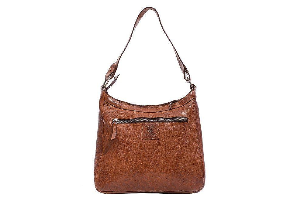 852ffdbe886 COWBOYSBAG Miami 1066 leather bag, college bag, shoulder bag, camel,  42x35x8 cm (W x H x D): Amazon.co.uk: Clothing