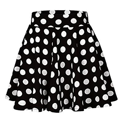 VEZAD Printed Skirt High Waist Midi Skirt Fashion Party Summer Women