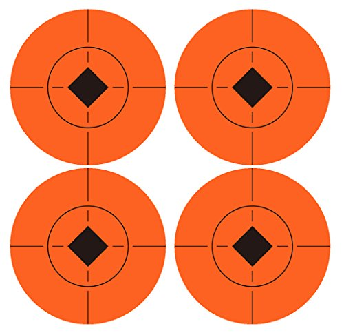 wootile Pack of 120, 2-Inch Orange Red Target Spot ()