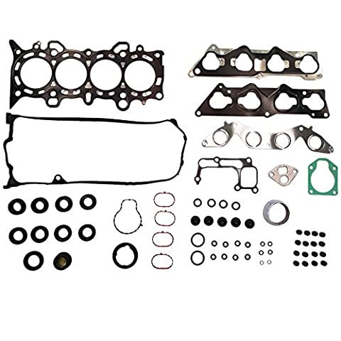 Engine Cylinder Head Gasket Set for 01-05 Honda Civic DX LX 1.7L l4 VTEC D17A1 (2002 Honda Lx)