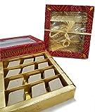 Sukhadia's Kaju Katli Indian Sweet, Fancy Bandhani Box (16oz)