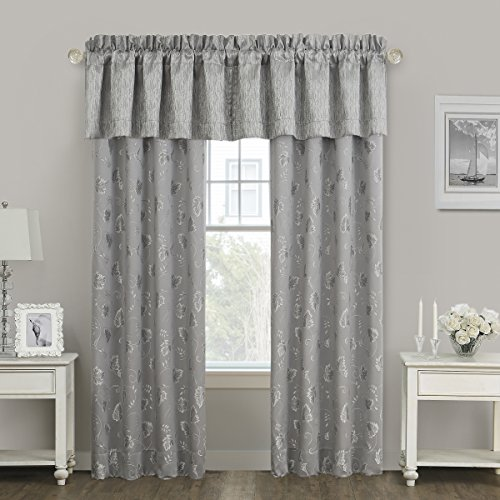 MARQUIS BY WATERFORD SAMANTHA Window, Valance, platinum
