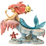 """Disney Traditions by Jim Shore The Little Mermaid figurine """"Dreaming Under the Sea"""" (4037501)"""